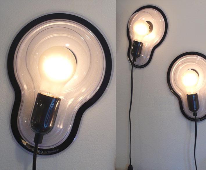 Droog design sticky lamp