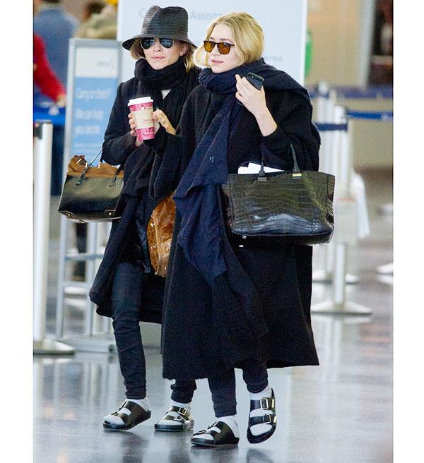 Olsen sisters pool sandals