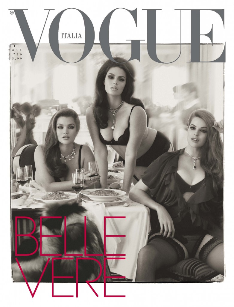 plus size models mannequins candice-huffine-tara-lynn-robyn-lawley-by-steven-meisel-for-vogue-italia-june-2011