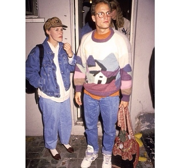 Le couple Glenn Close et Woody Harrelson période 90s