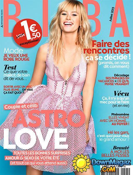 magazine biba couverture juin 2015